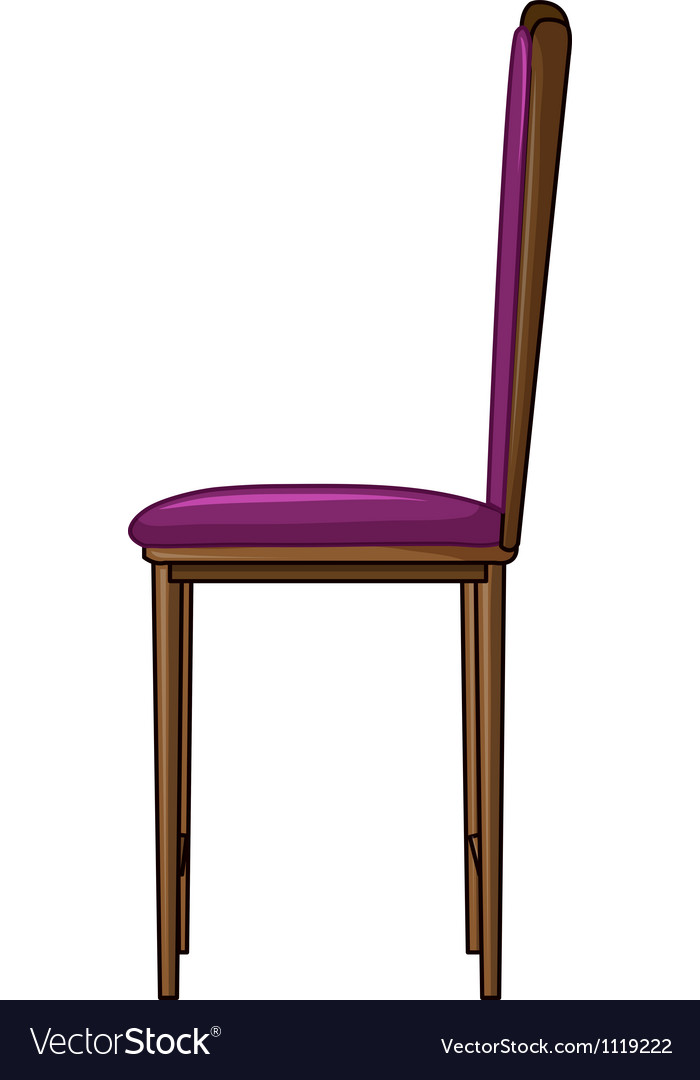 A cushion chair vector | Price: 1 Credit (USD $1)
