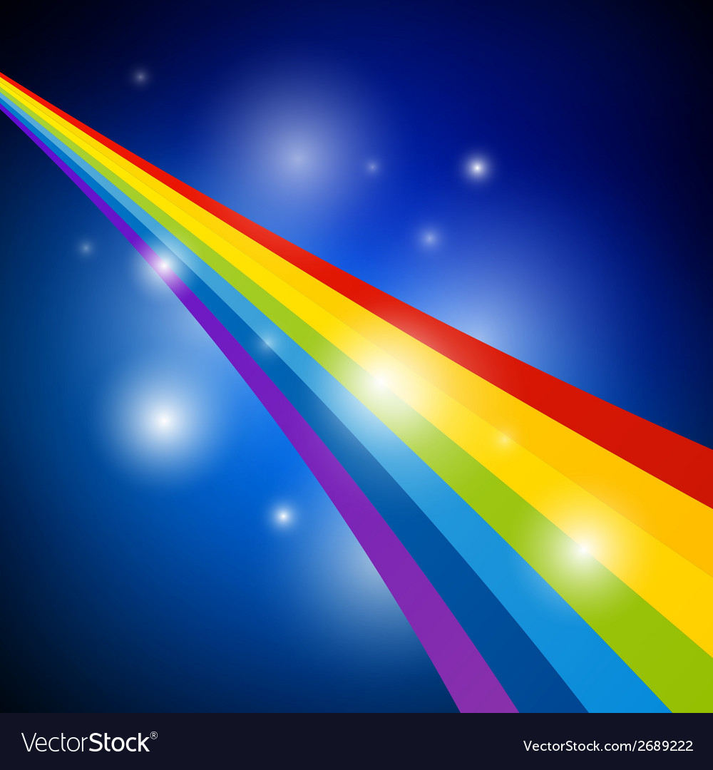 Abstract rainbow vector | Price: 1 Credit (USD $1)