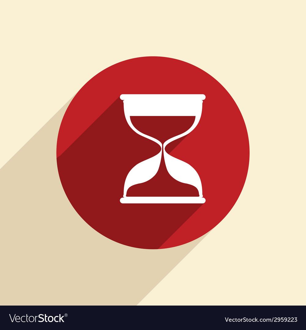 Hourglass waiting vector | Price: 1 Credit (USD $1)
