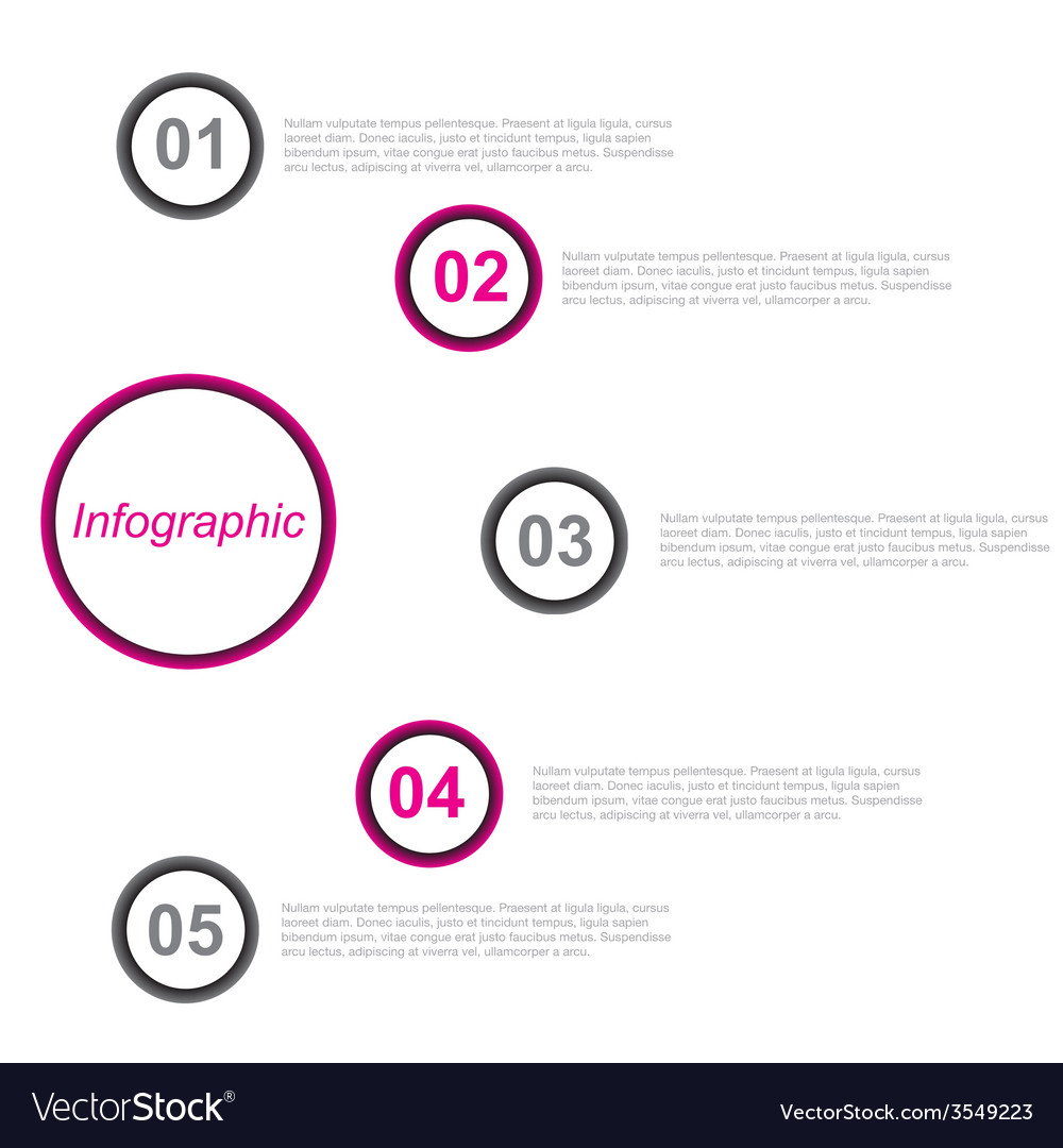 Infographic template vector | Price: 1 Credit (USD $1)