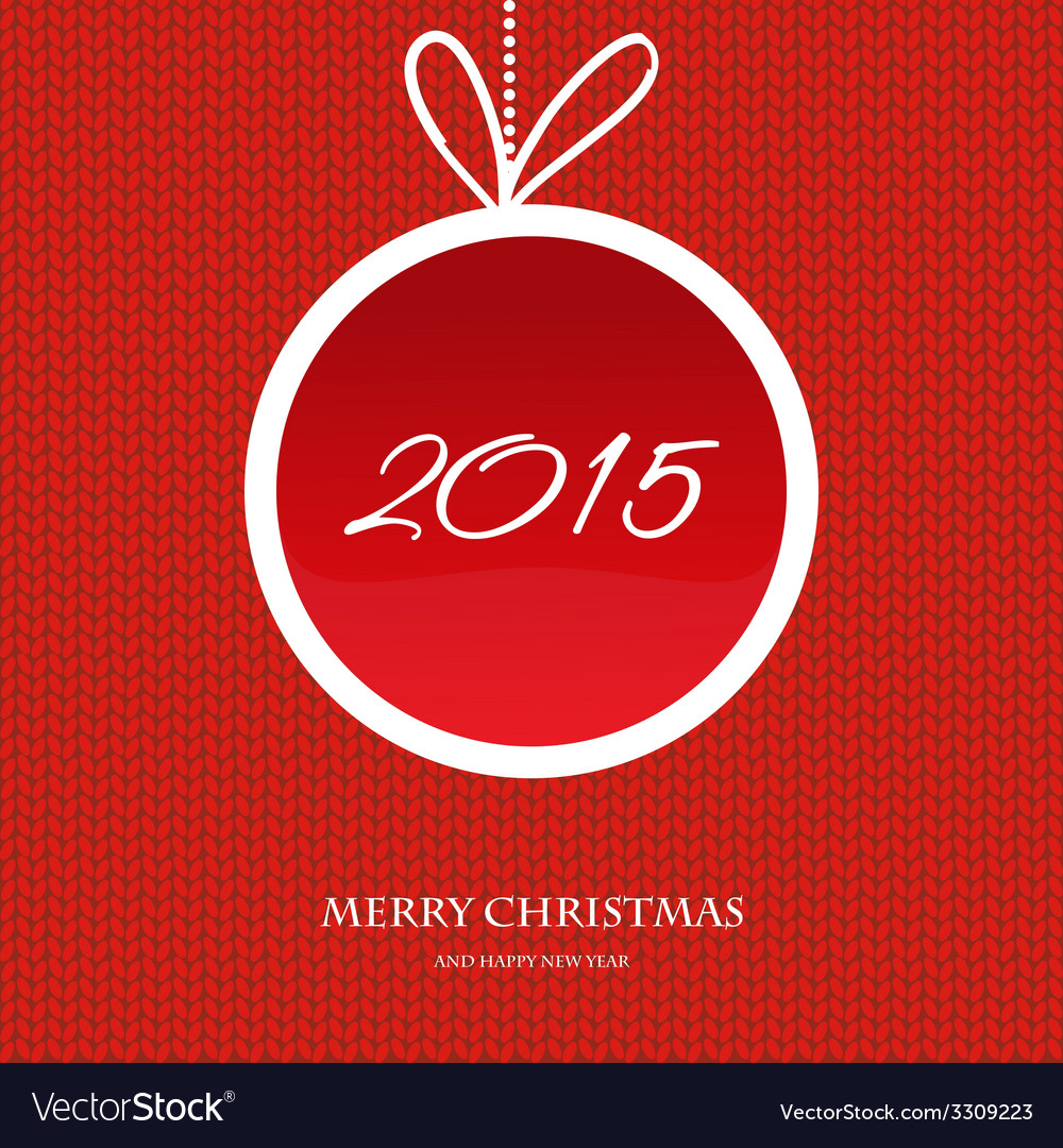 Merry christmas and happy new year 2015 vector   Price: 1 Credit (USD $1)