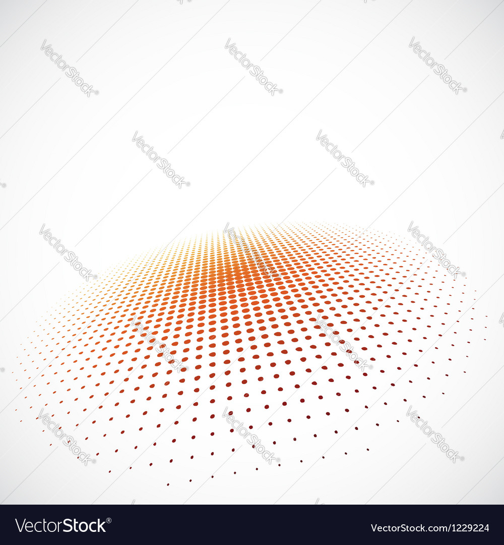 3d halftone background vector | Price: 1 Credit (USD $1)
