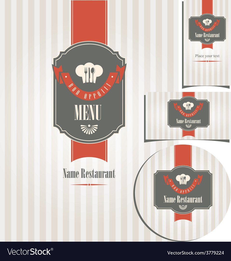 Design style restaurant vector | Price: 1 Credit (USD $1)