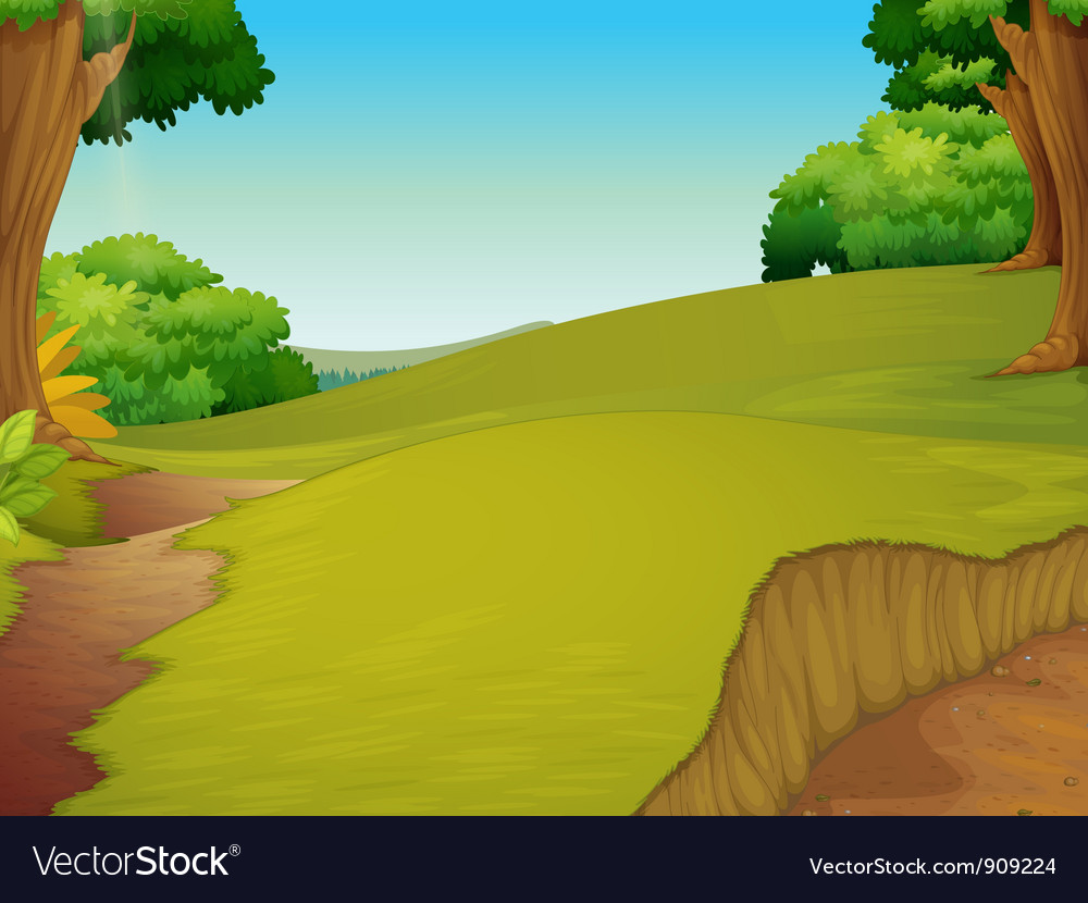 Pasture vector | Price: 3 Credit (USD $3)