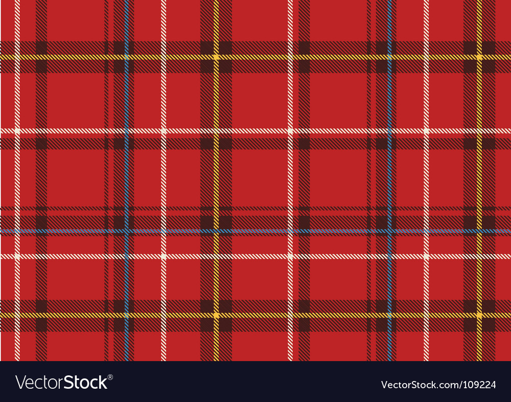 The scottish plaid vector | Price: 1 Credit (USD $1)