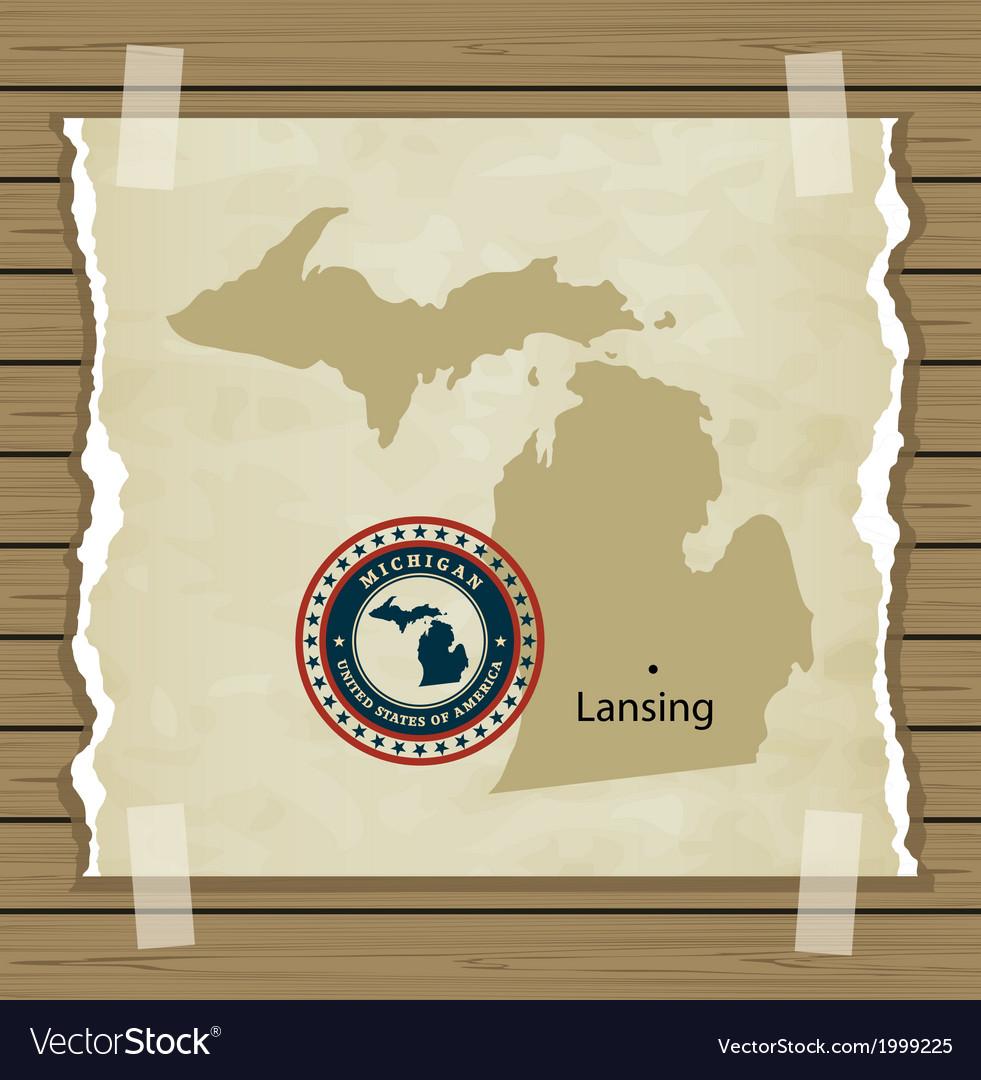 Michigan vector   Price: 1 Credit (USD $1)