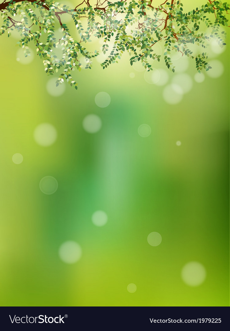 Summer in the forest abstract natural eps 10 vector | Price: 1 Credit (USD $1)