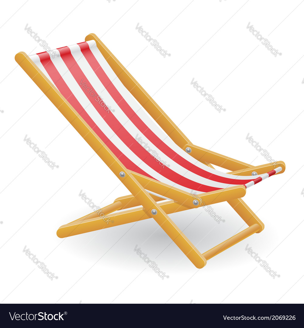 Beach chair 01 vector | Price: 1 Credit (USD $1)