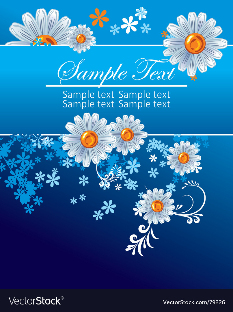 Floral page vector | Price: 1 Credit (USD $1)