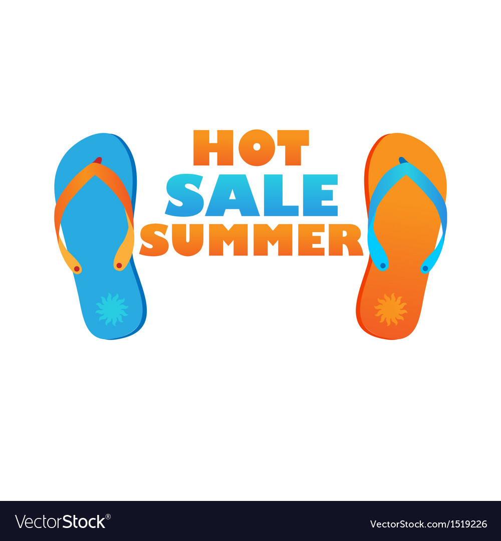 Hot sale summer vector | Price: 1 Credit (USD $1)
