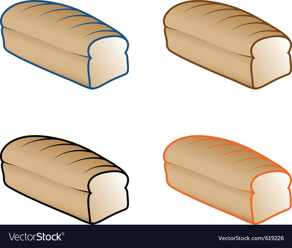 Various bread vector | Price: 1 Credit (USD $1)