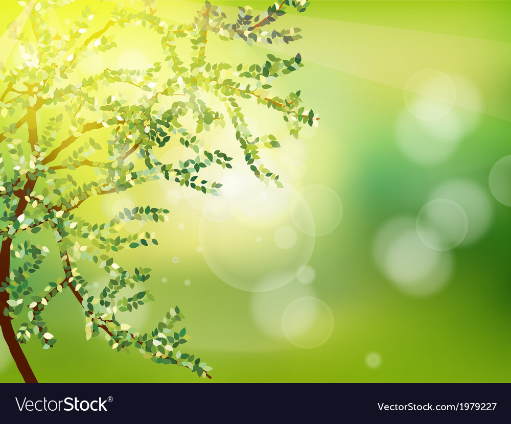 Abstract spring background eps 10 vector | Price: 1 Credit (USD $1)
