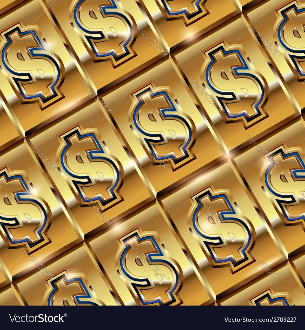 Dollar ingot vector   Price: 1 Credit (USD $1)