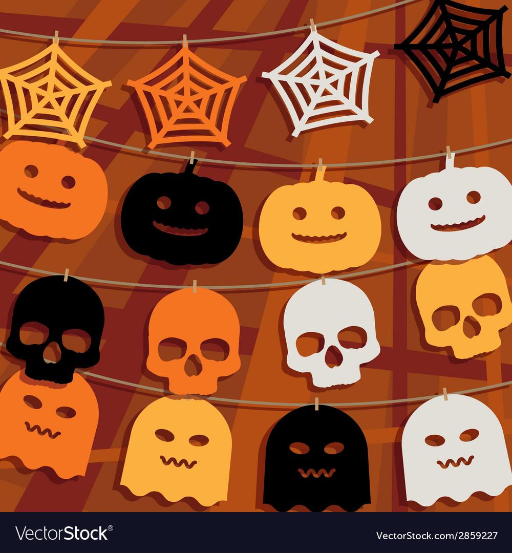 Halloween decoration vector | Price: 1 Credit (USD $1)