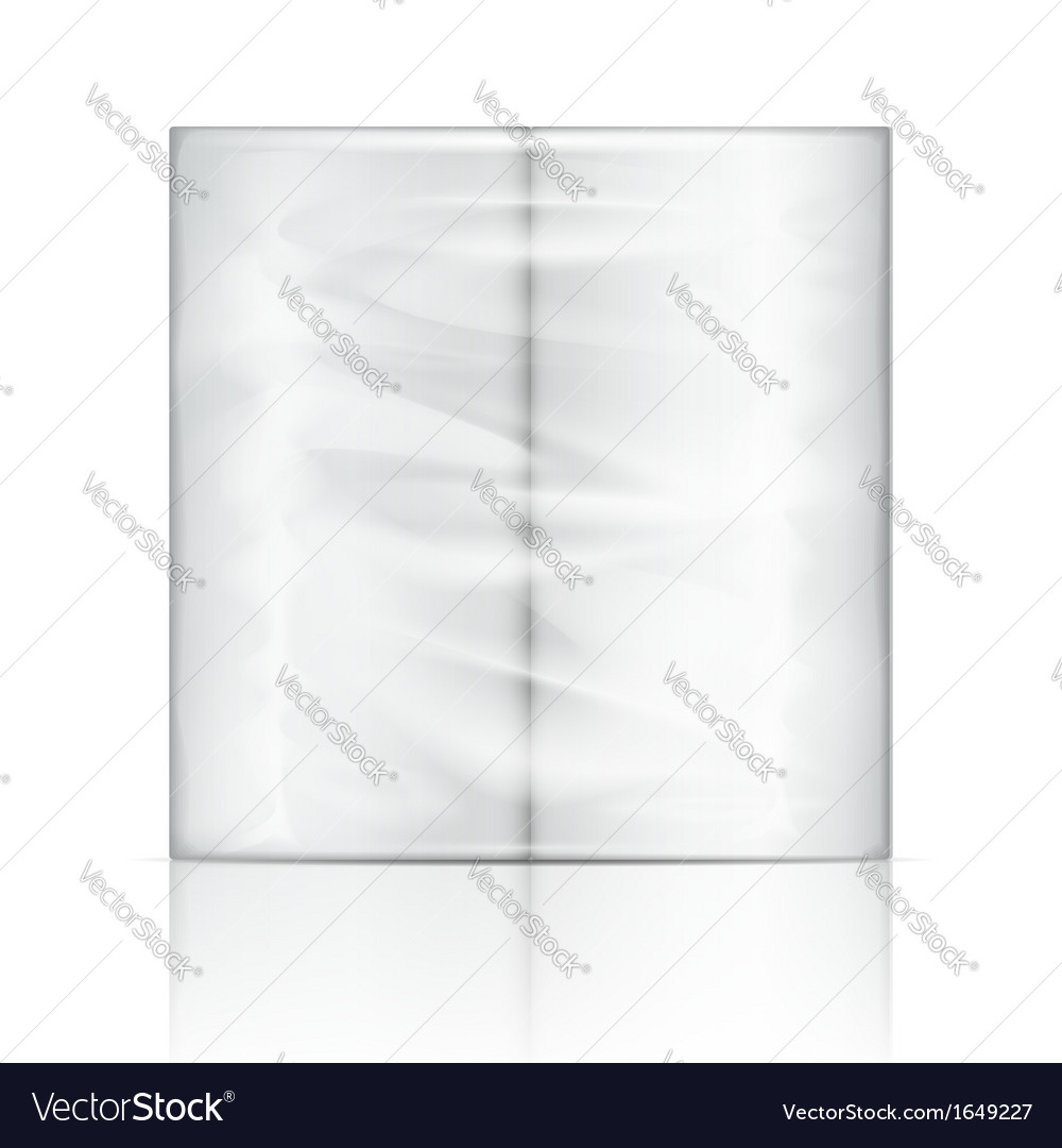 Kitchen paper towel package vector | Price: 1 Credit (USD $1)
