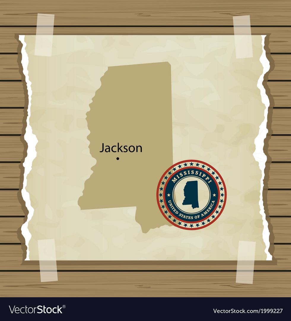 Mississippi vector | Price: 1 Credit (USD $1)
