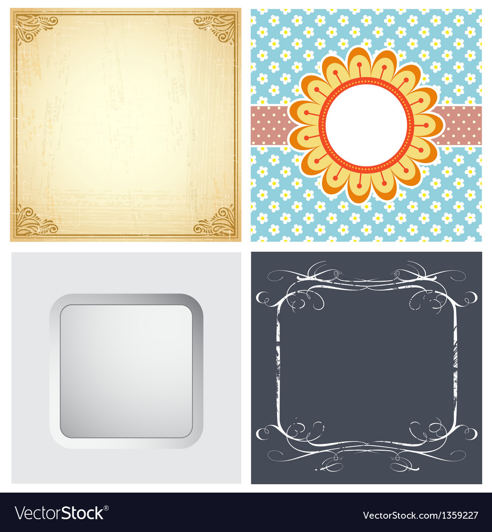 Set background images vector | Price: 1 Credit (USD $1)