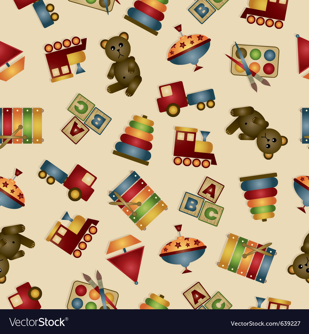 Toy pattern vector | Price: 1 Credit (USD $1)