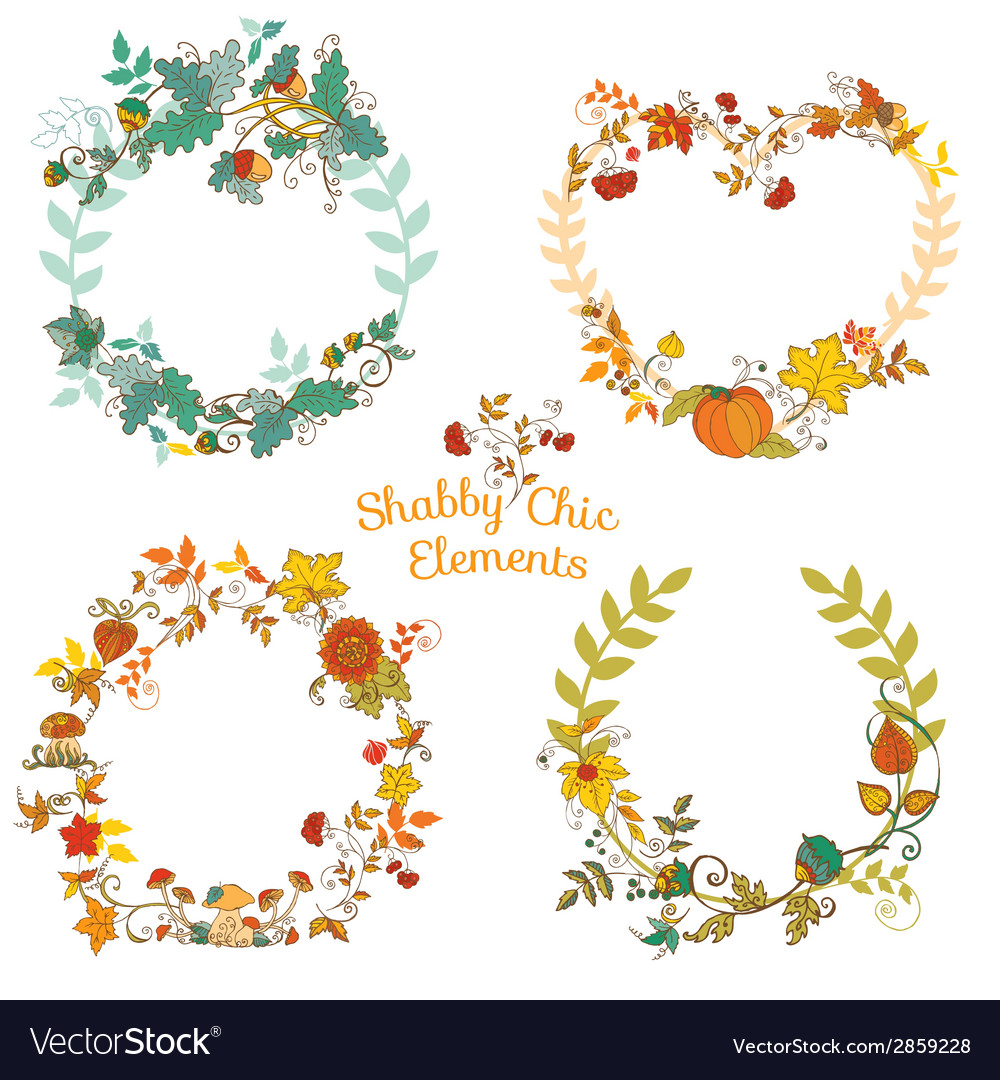 Autumn banners and tags vector | Price: 1 Credit (USD $1)