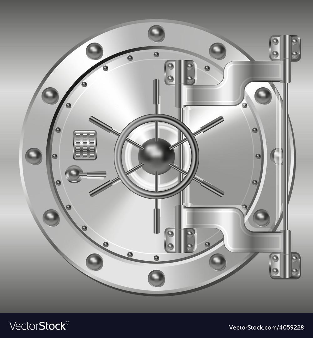 Bank doors vector | Price: 1 Credit (USD $1)