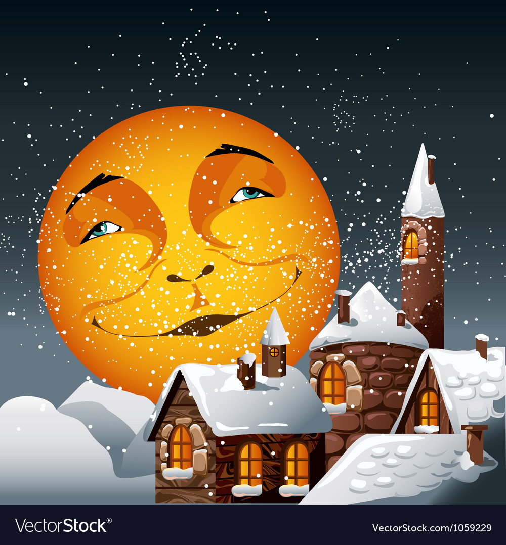 Moon vector | Price: 3 Credit (USD $3)