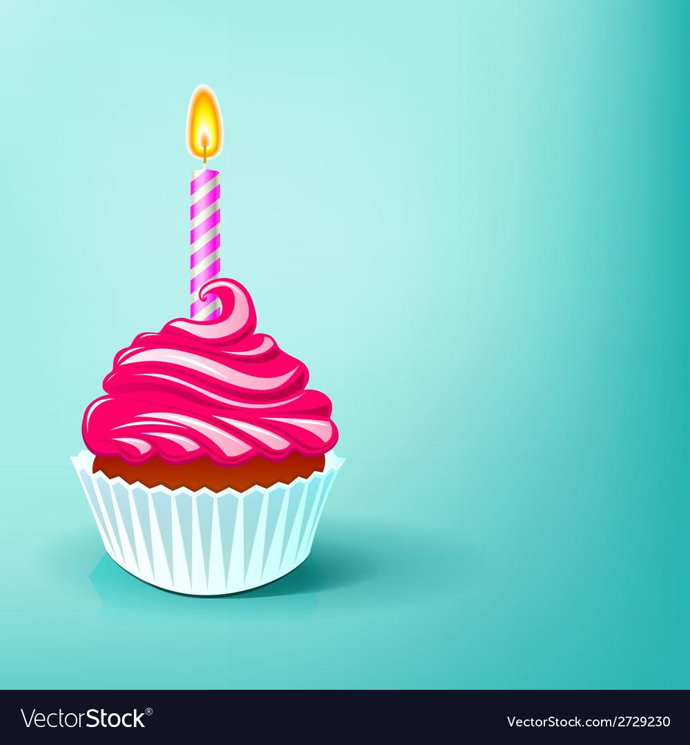 Cake birthday party vector | Price: 1 Credit (USD $1)