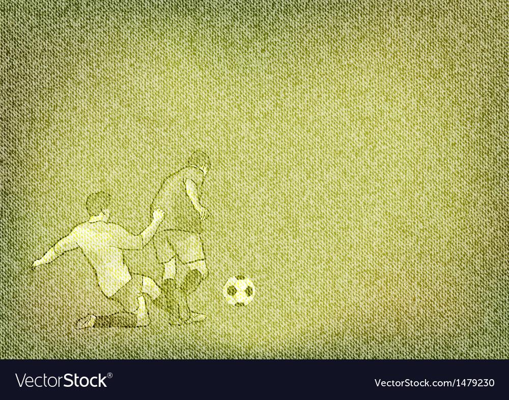 Football texture grain green vector | Price: 1 Credit (USD $1)