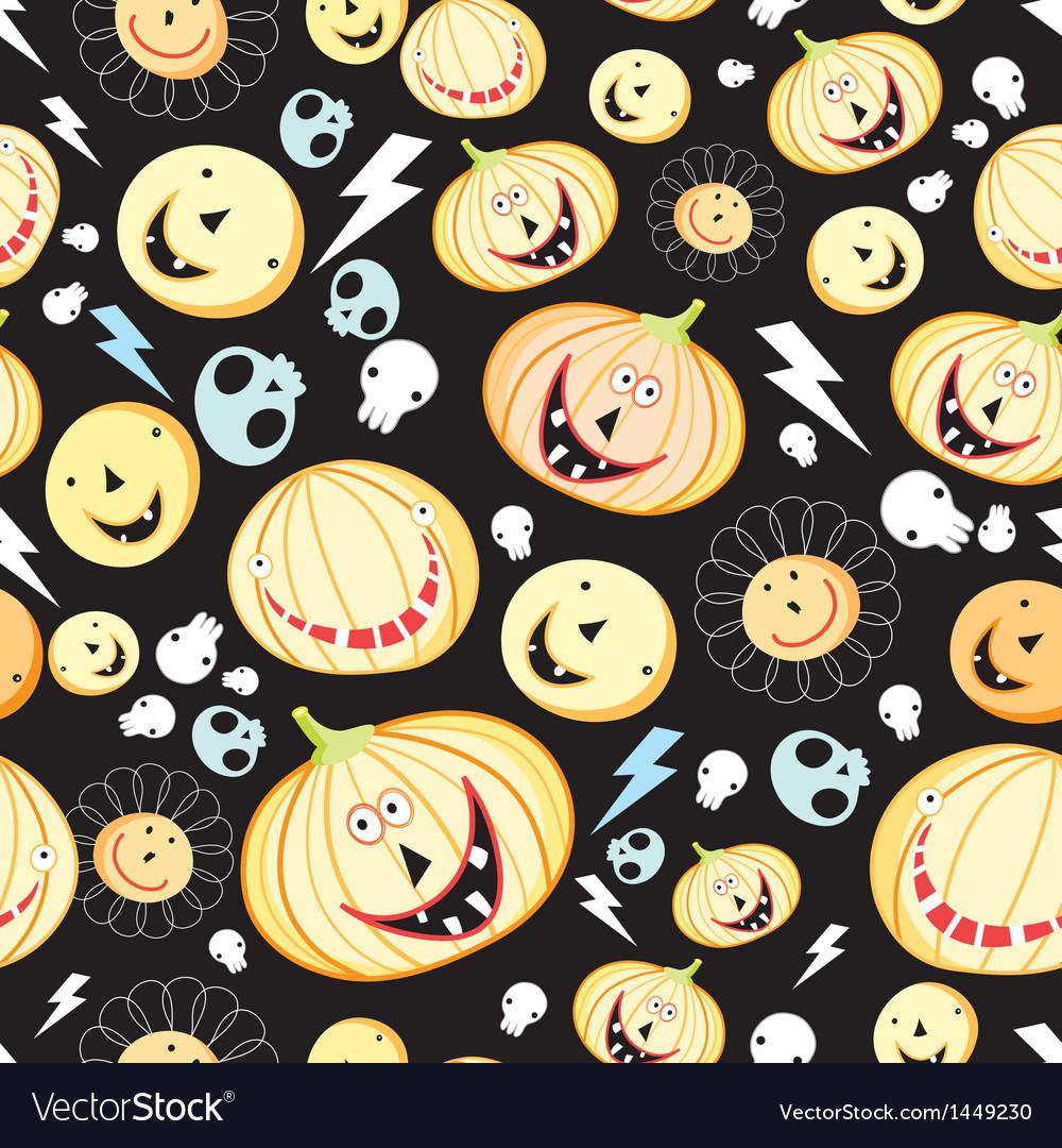 Texture of pumpkins for halloween vector | Price: 1 Credit (USD $1)