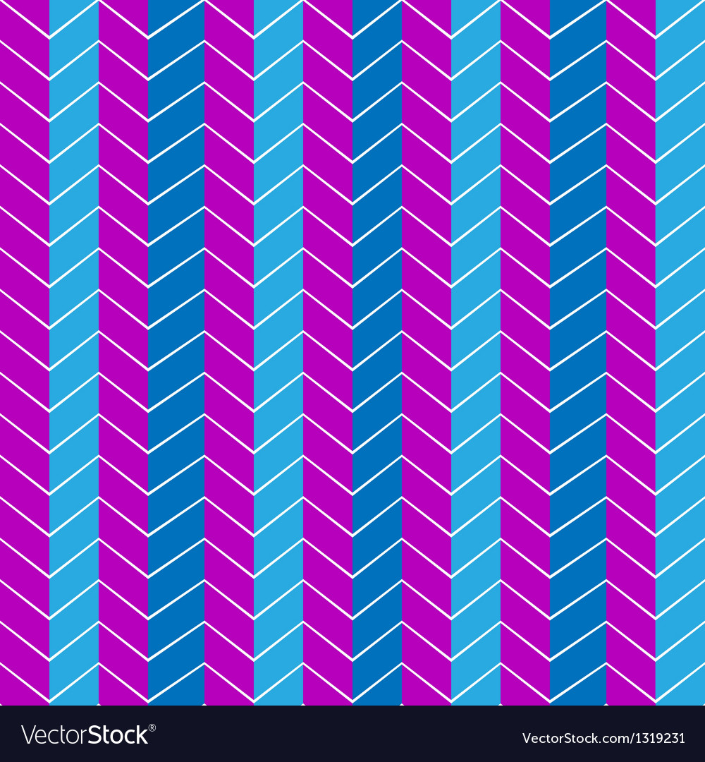 Seamless geometric blue and purple pattern vector | Price: 1 Credit (USD $1)