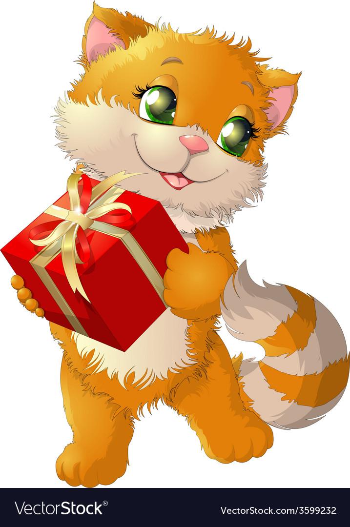 Beautiful kitten vector | Price: 3 Credit (USD $3)