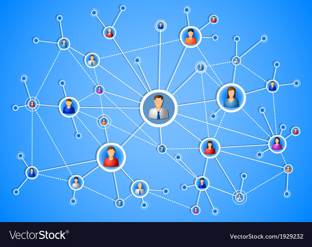 Network connection vector   Price: 1 Credit (USD $1)