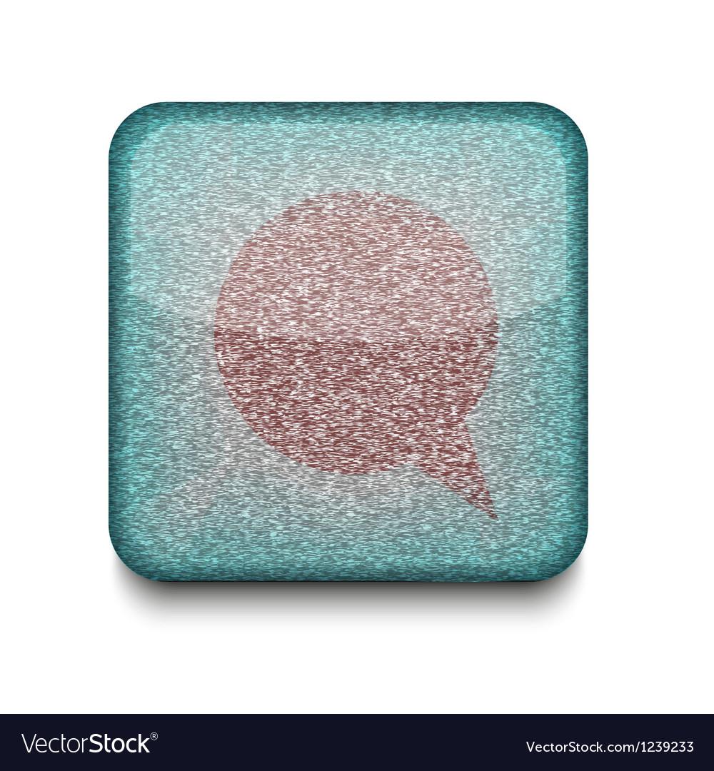 Bubble speech icon vector | Price: 1 Credit (USD $1)