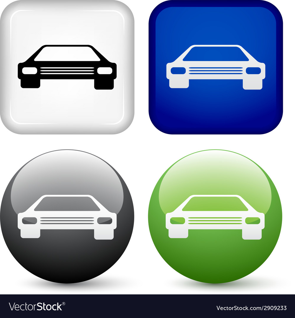 Car buttons vector | Price: 1 Credit (USD $1)