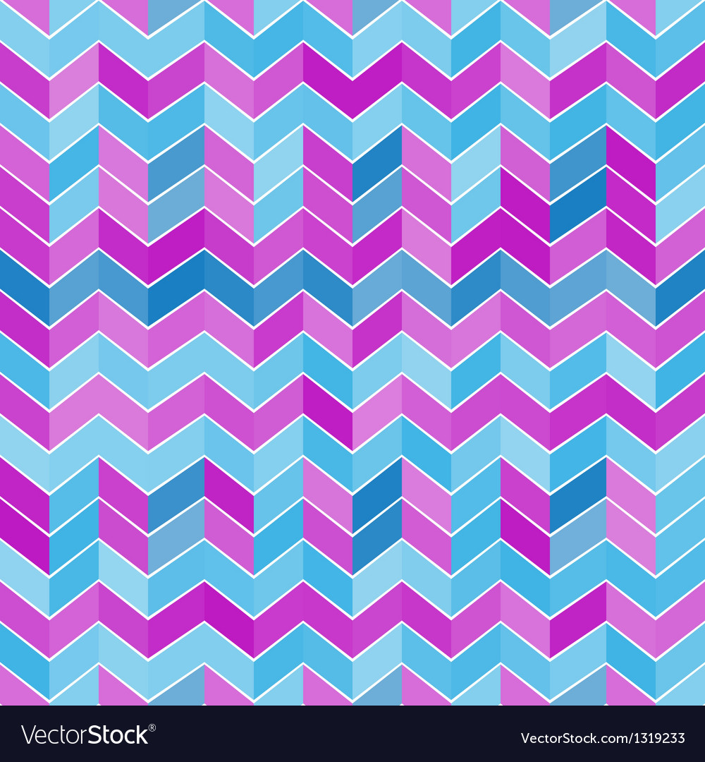 Seamless geometric light blue and purple pattern vector | Price: 1 Credit (USD $1)