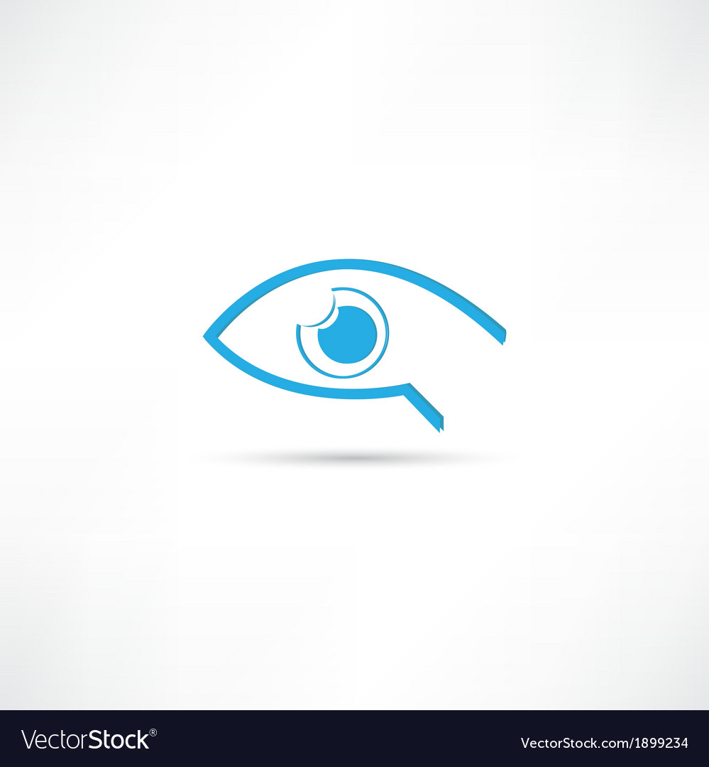 Abstract eye icon vector   Price: 1 Credit (USD $1)