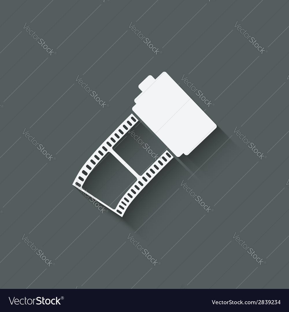Camera film roll vector   Price: 1 Credit (USD $1)