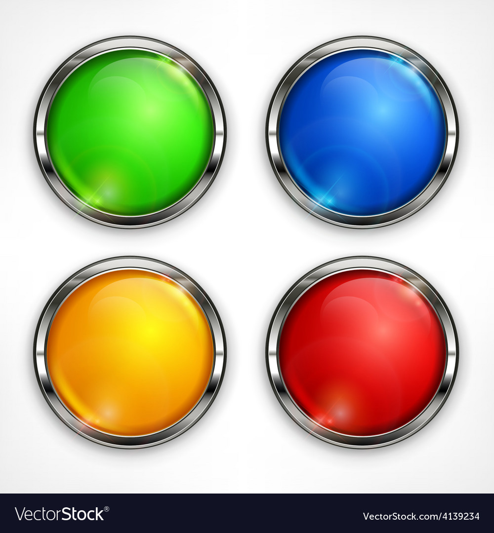 Color circles on white vector | Price: 1 Credit (USD $1)