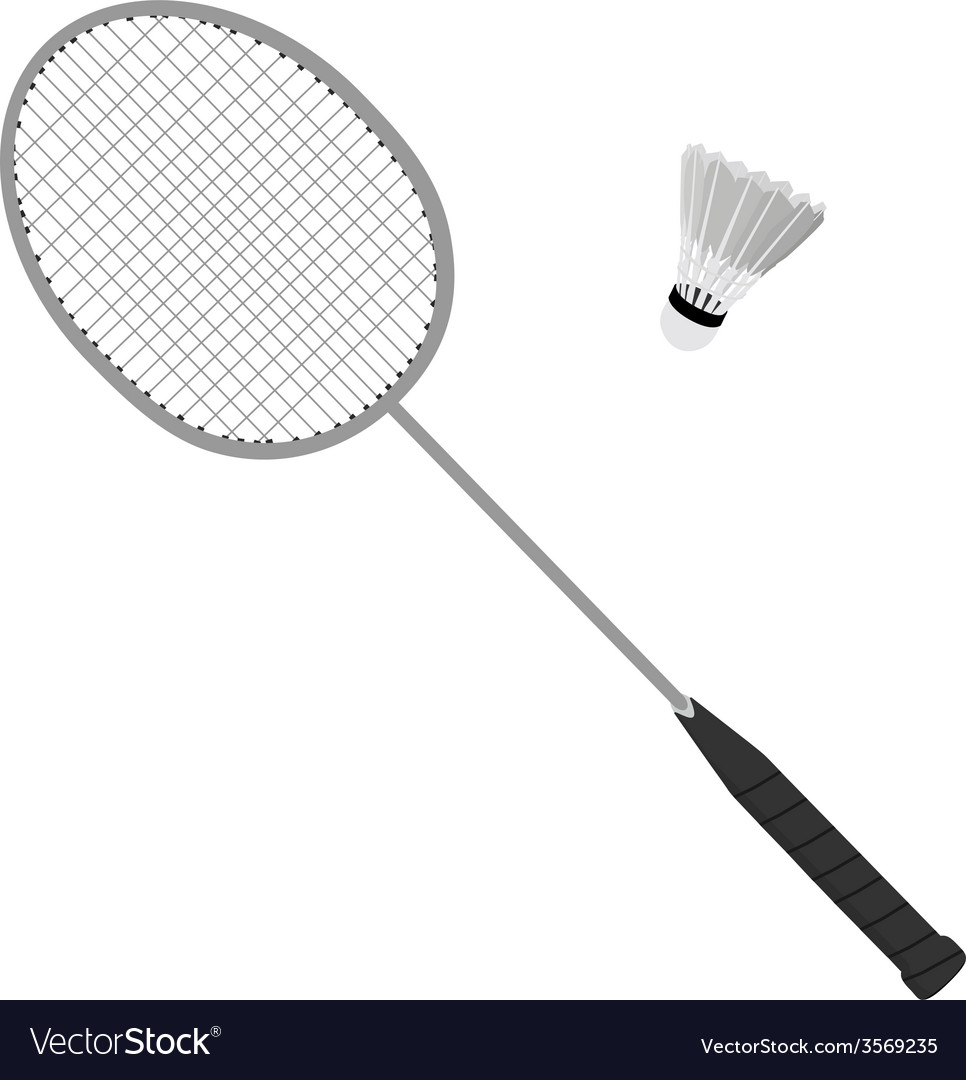 Badminton racket and shuttlecock vector   Price: 1 Credit (USD $1)