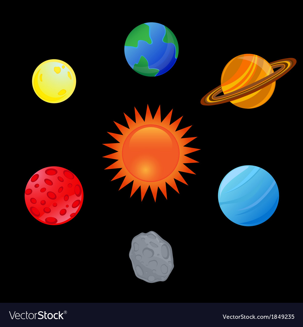 Planet vector | Price: 1 Credit (USD $1)