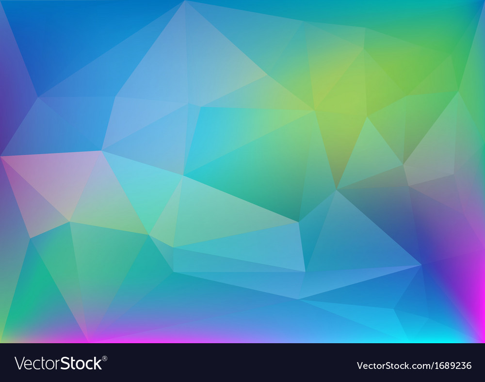 Abstract polygonal colorful light vector | Price: 1 Credit (USD $1)