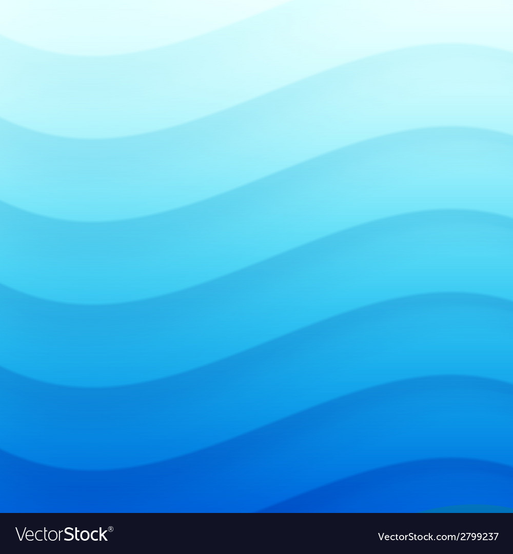 Blue wavy background for your design vector | Price: 1 Credit (USD $1)