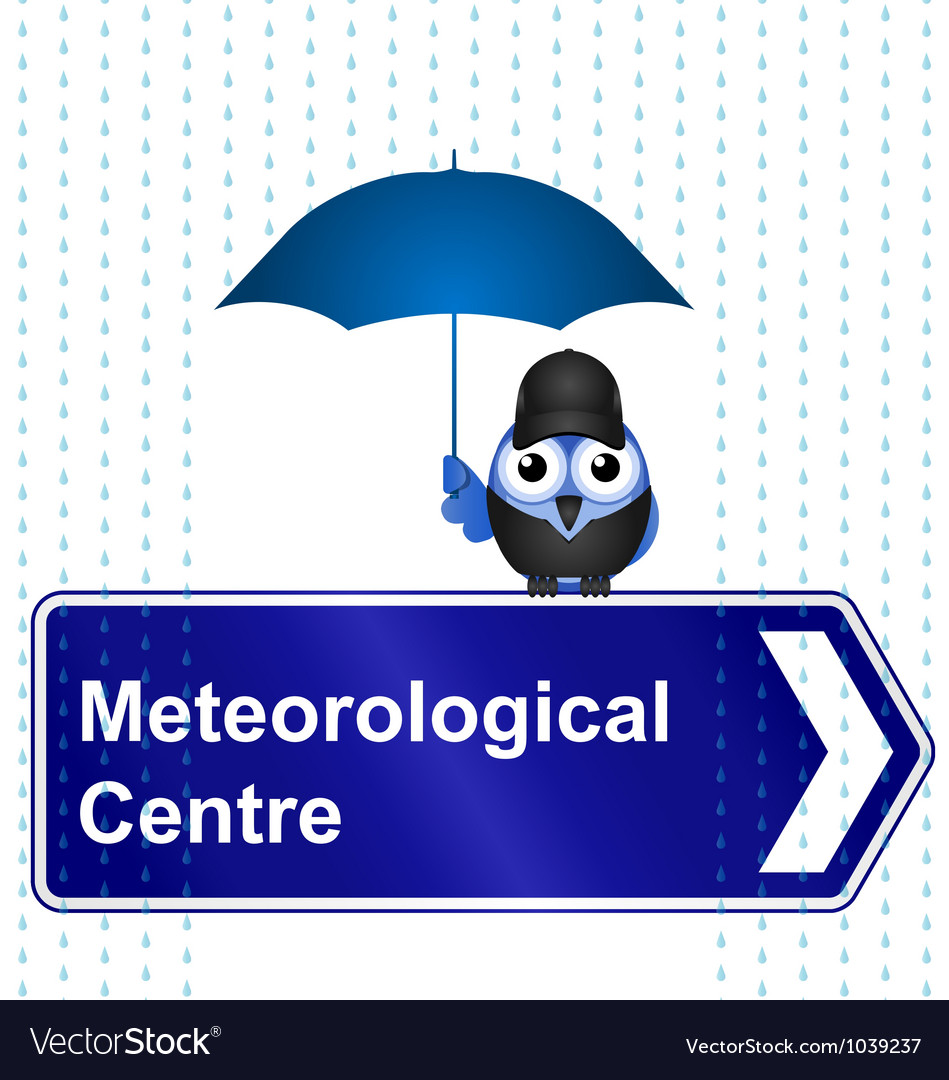 Meteorological centre sign vector | Price: 1 Credit (USD $1)