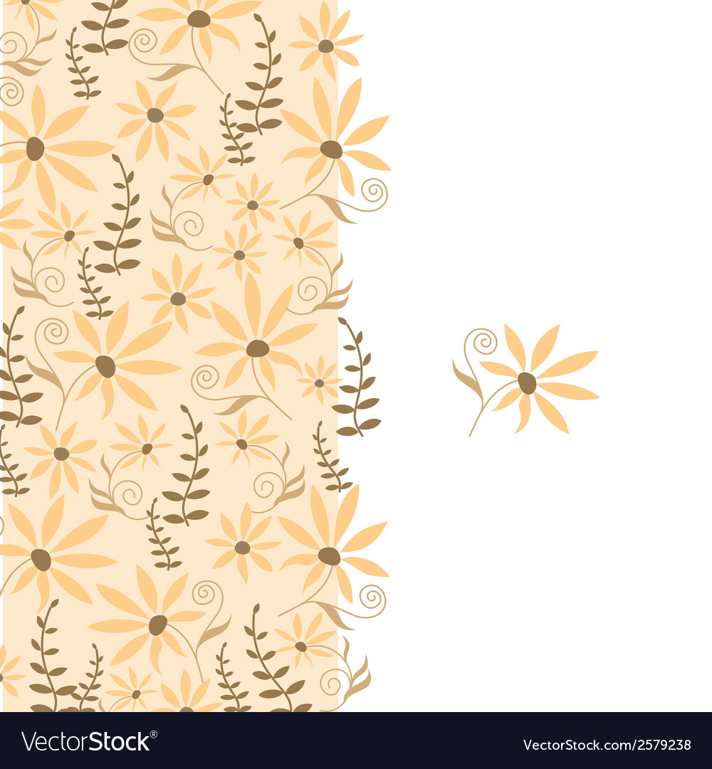 Card with peach flower vector | Price: 1 Credit (USD $1)