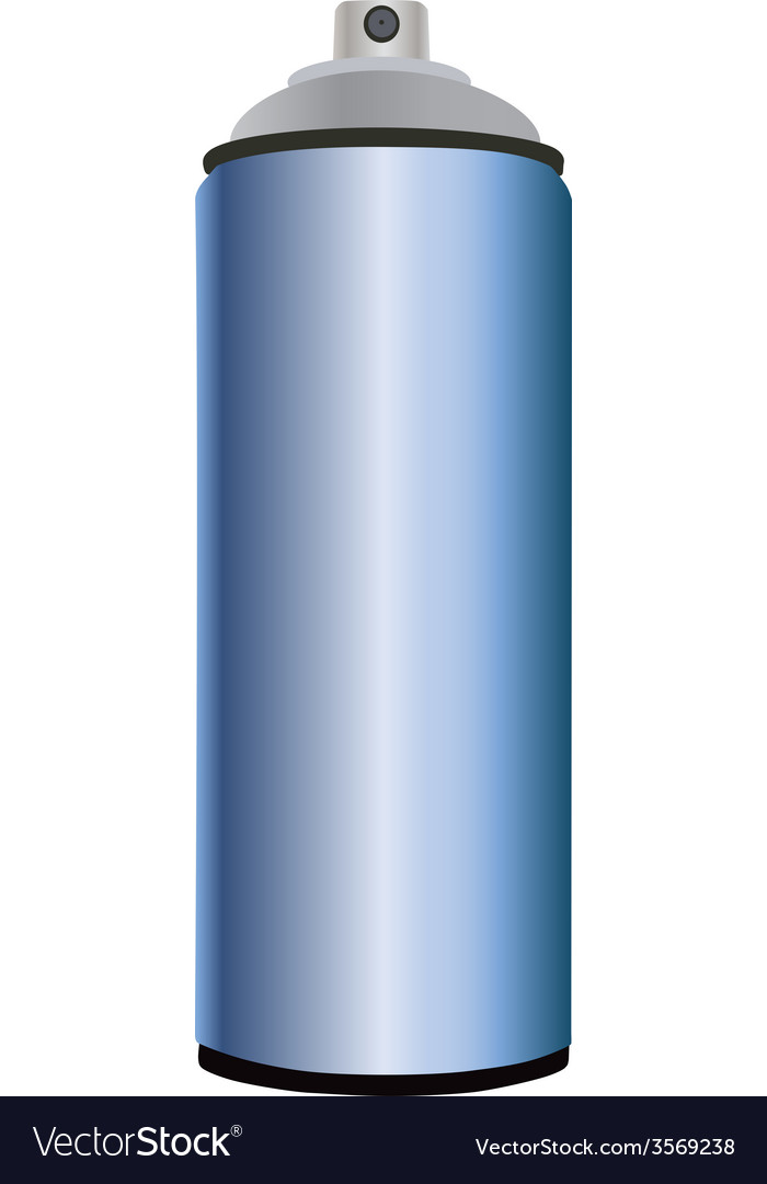 Spray bottle blue vector   Price: 1 Credit (USD $1)