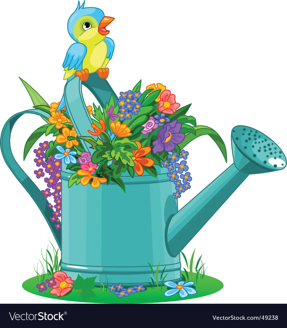 Watering can vector   Price: 3 Credit (USD $3)