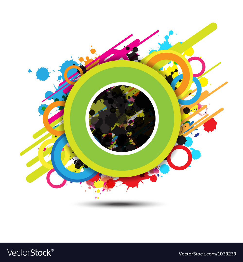 Abstract circle background design vector   Price: 1 Credit (USD $1)