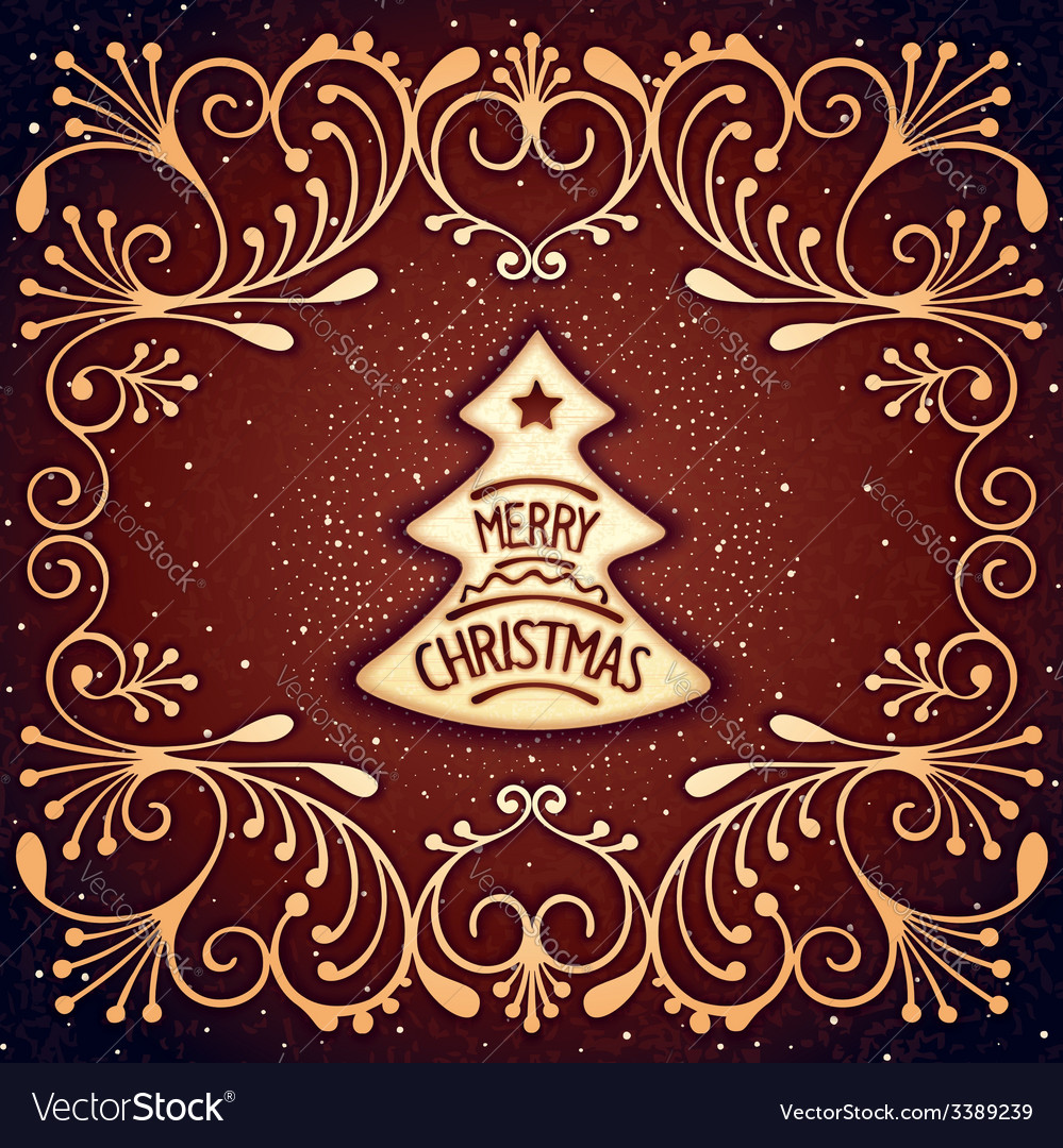 Christmas biscuits vector | Price: 1 Credit (USD $1)