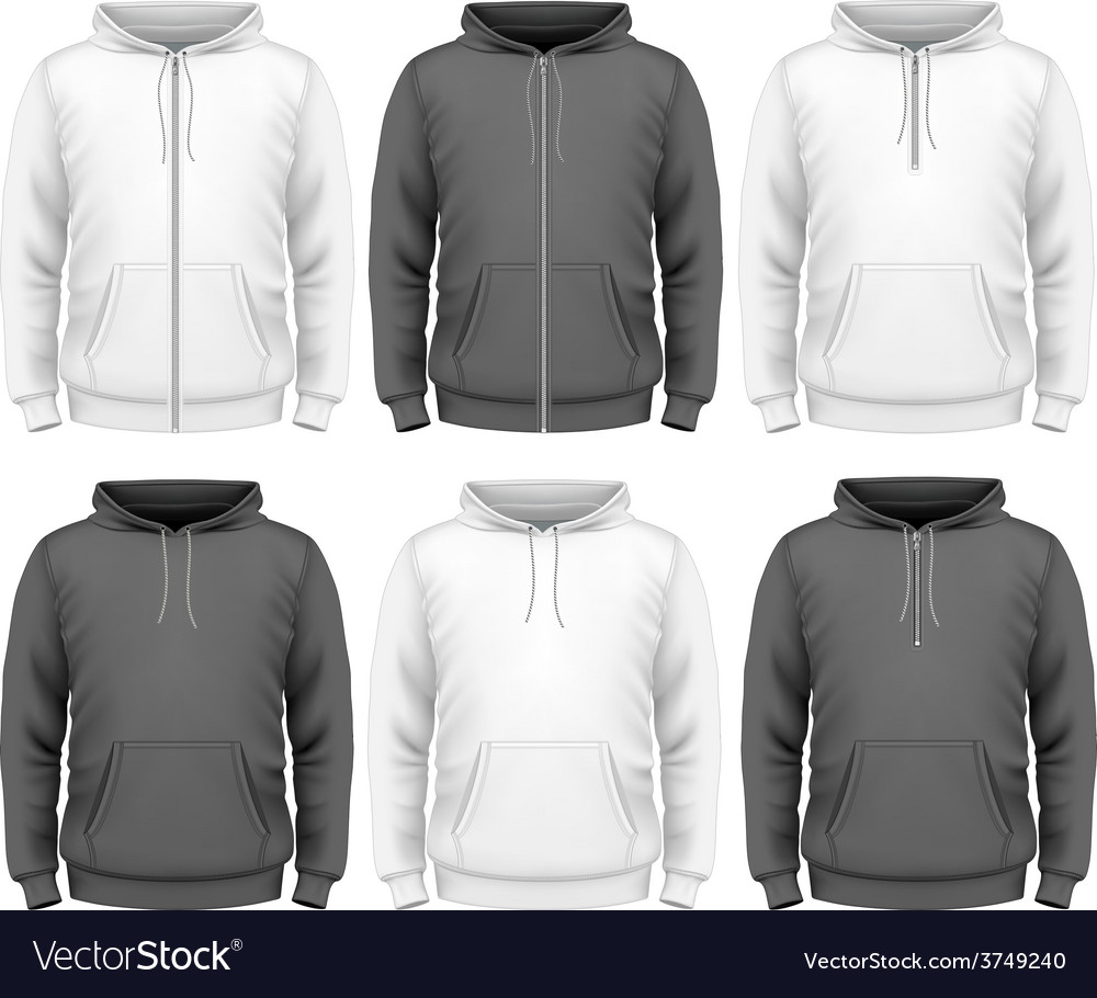 Men hoodie vector | Price: 3 Credit (USD $3)