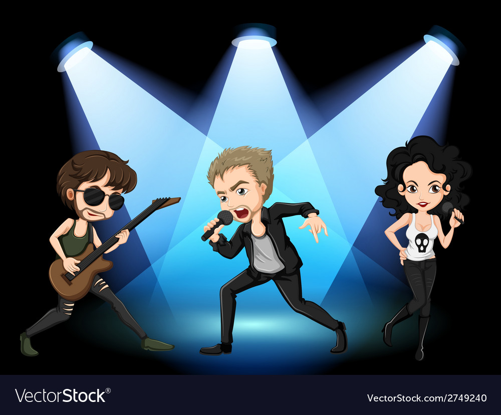 Rock stars vector | Price: 1 Credit (USD $1)