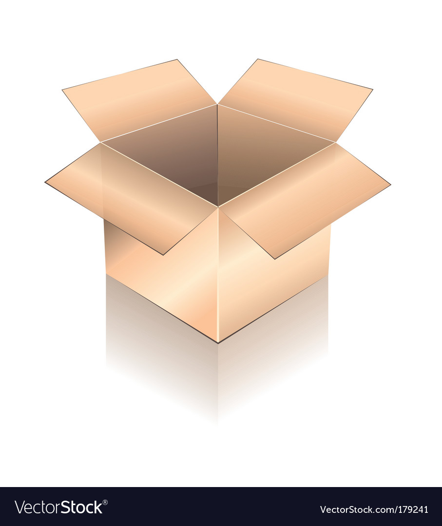 3d box with shadow vector | Price: 3 Credit (USD $3)